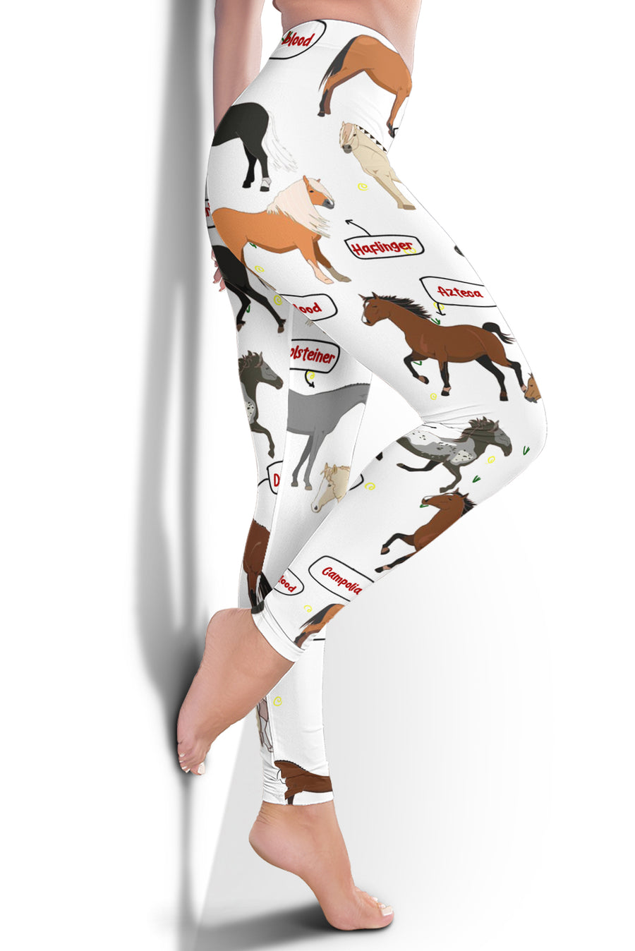 Horse Breeds Leggings