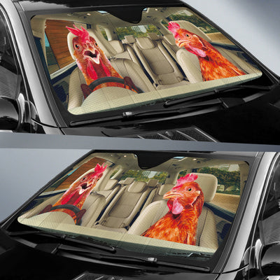 Driving Chicks Right Hand Drive Version Auto Sun Shade
