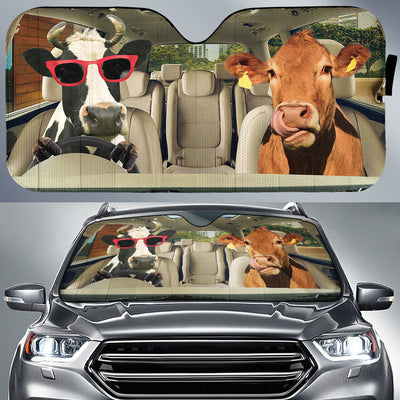 Driving Cows Right Hand Drive Version Auto Sun Shade