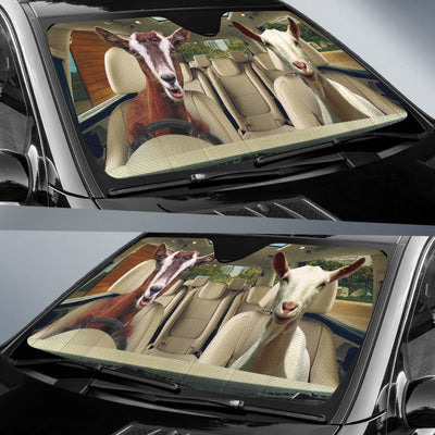 Driving Goats Right Hand Drive Version Auto Sun Shade