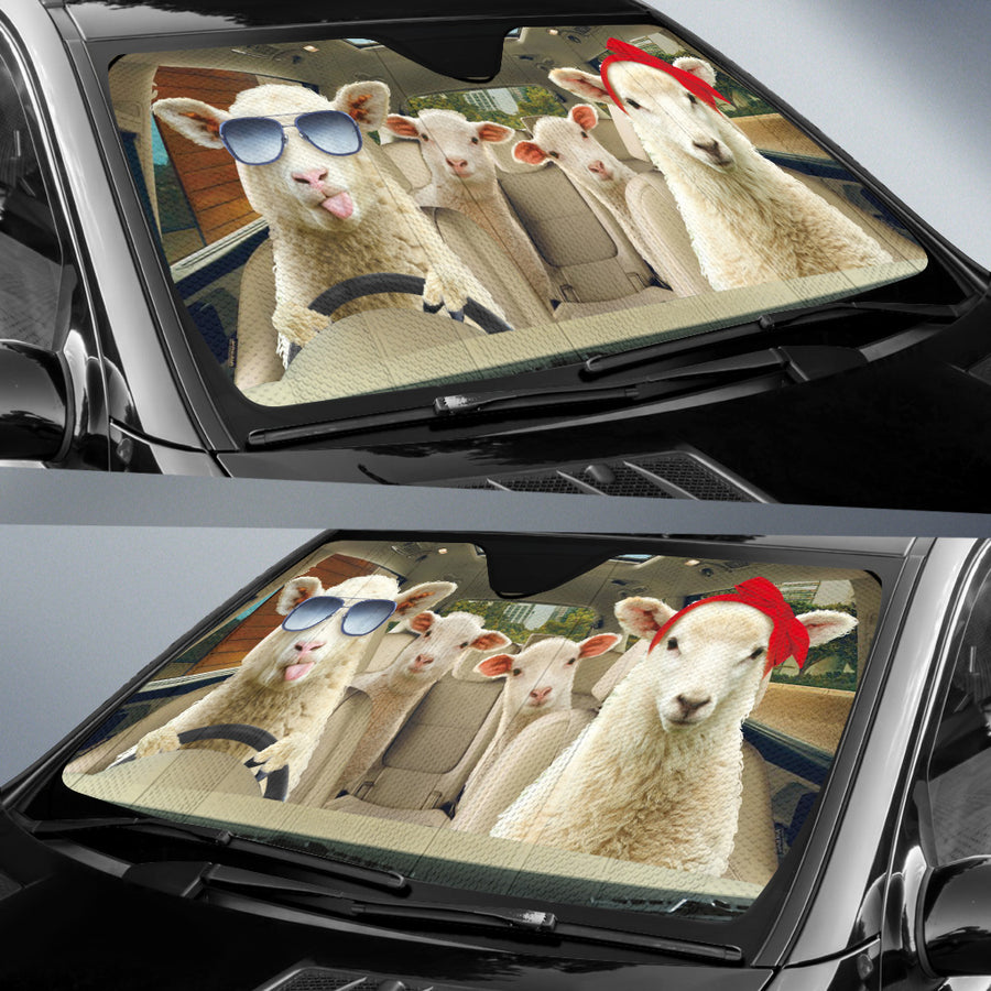 Driving Sheep Right Hand Drive Version Auto Sun Shade