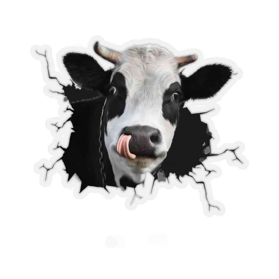 Dairy Cow Sticker