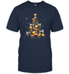 Cows Christmas Tree T Shirt