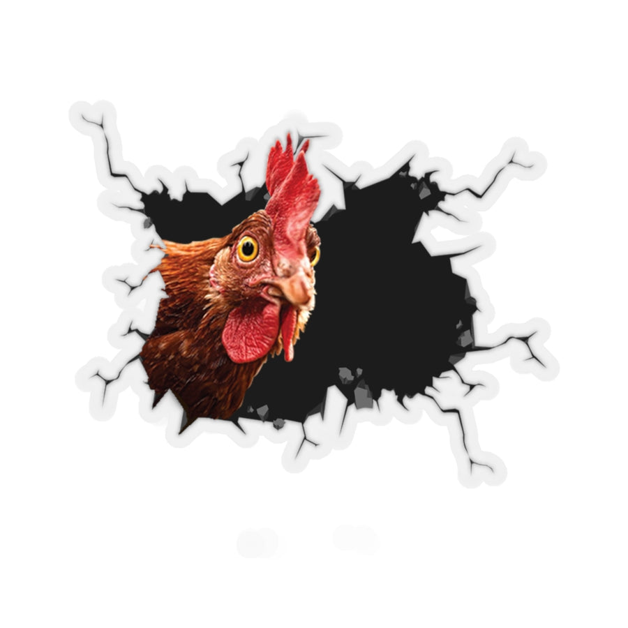Funny Chicken 1 Sticker