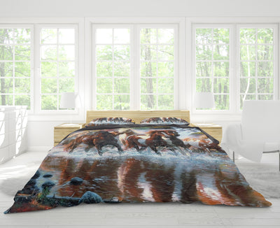 Wild Horses Bedding Set - FREE SHIPPING