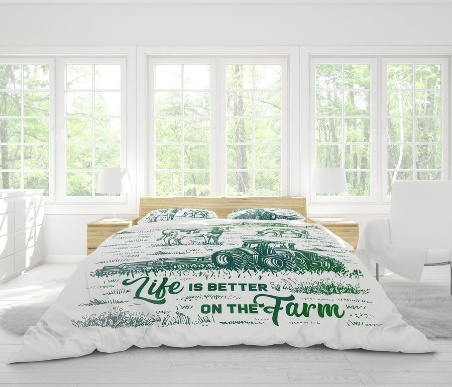 Life Is Better On The Farm 1 Bedding set