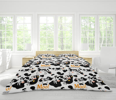 Moo Love Forever Dairy Cows Bedding Set - FREE SHIPPING