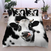 Cute Face Dairy Cows 1 Bedding Set - FREE SHIPPING