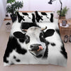 Cute Face Dairy Cows 2 Bedding Set