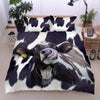 Funny Face Dairy Cows 2 Bedding Set - FREE SHIPPING
