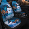 Blue Horses Car Seat Covers