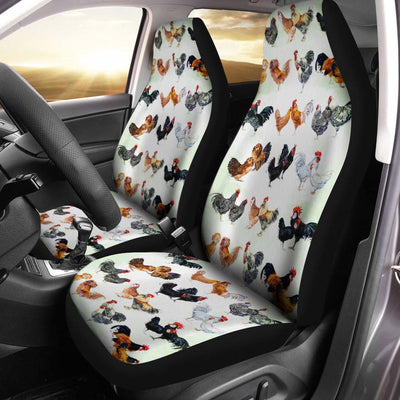 Chicken Breeds Car Seat Covers