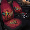 Couple Chickens Car Seat Covers