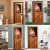 Chicken Barn Door Cover