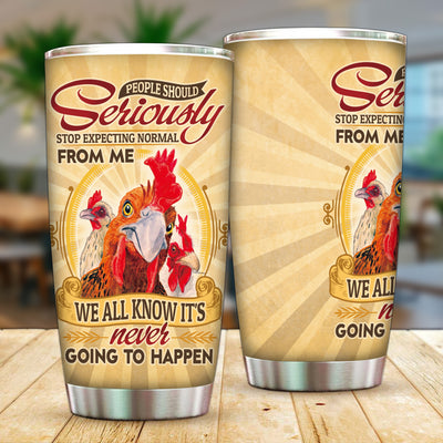 Chicken Knowledge Tumbler