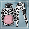 Cute Body Cow All-over Hoodie And Leggings Set