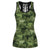 Cows Camo Hollow Tank Top