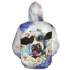 Dairy Cow Oil Painting 1 All-over Hoodie