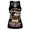 Don't Ask A Farm Girl A Stupid Question Hollow Tank Top