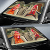 Driving Chickens Auto Sun Shade