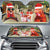 Xmas Driving Chickens Right Hand Drive Version Auto Sun Shade