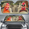 Driving Sunglasses Chickens Auto Sun Shade