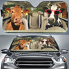 Driving Cows Auto Sun Shade