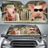 Driving Pigs 1 Auto Sun Shade