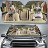 Driving Rabbits Auto Sun Shade