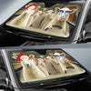 Driving Sheep Auto Sun Shade