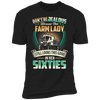 Don't Be Jealous Because This Farm Lady Still Looks This Good In Her Sixties T-shirt