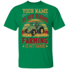 Personalized - Farming Is My Game T-shirt