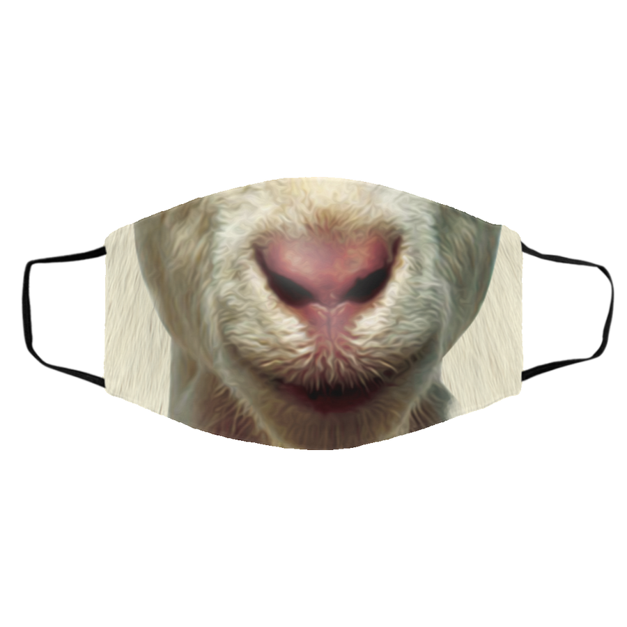 Be Kind - Goat Face Mask