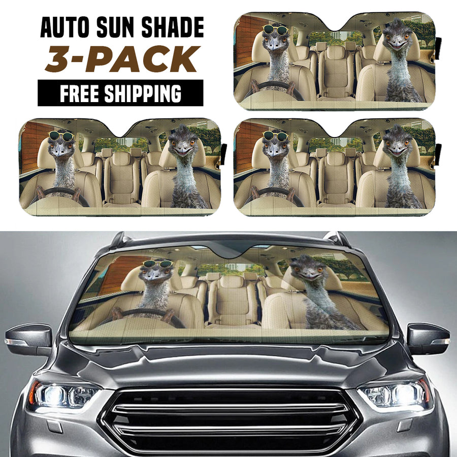 Driving Emus Right Hand Drive Version Auto Sun Shade