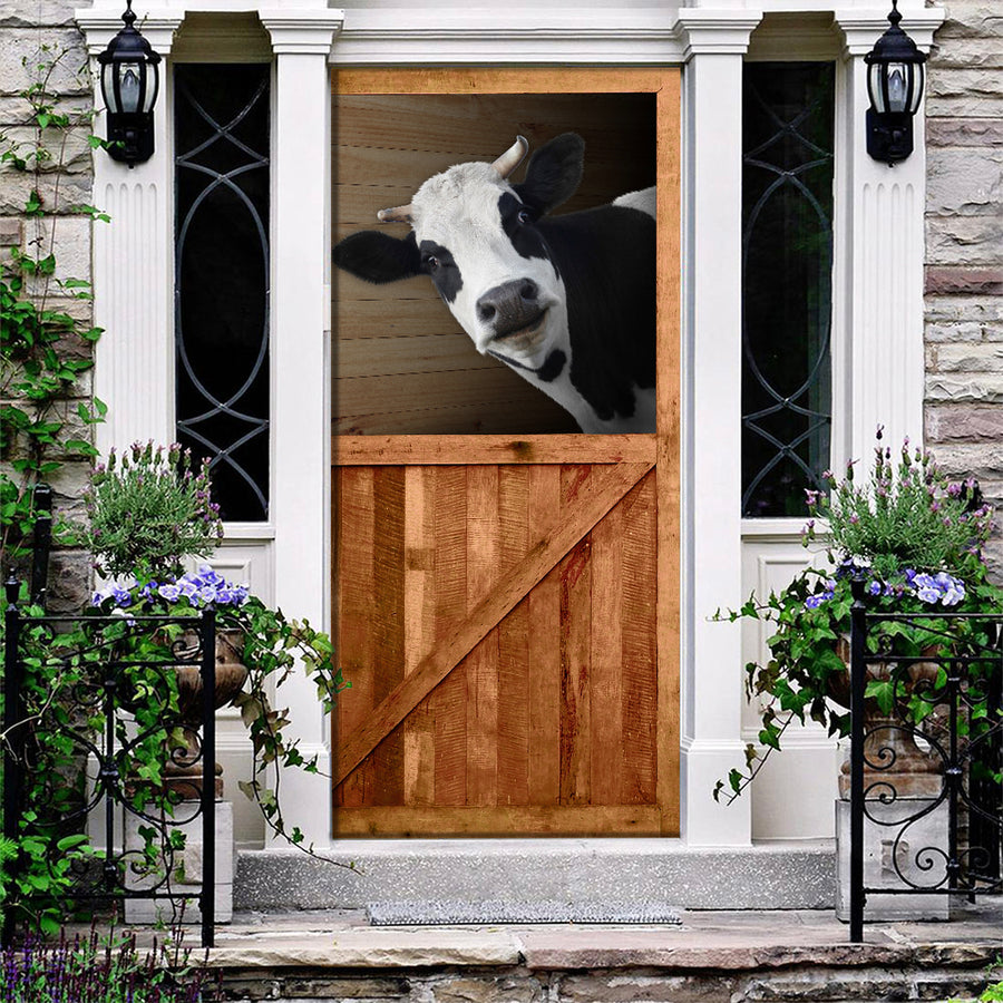 Cow Barn Door Cover