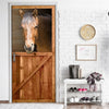 Horse Barn Door Cover