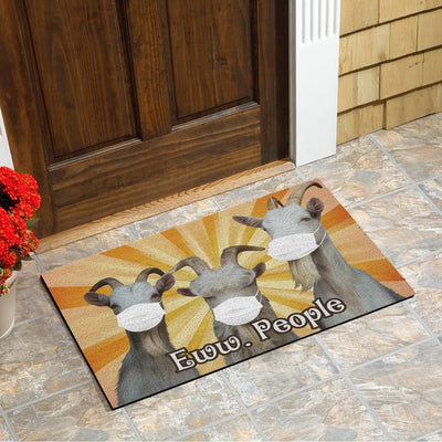Goats Eww People Doormat