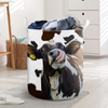 Funny Face Dairy Cow Laundry Basket