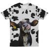 Funny Dairy Cow AOP Tee