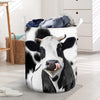Laundry Today Or Naked Tomorrow Cows Laundry Basket