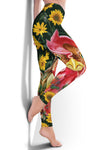 Sunflower Chicken Leggings