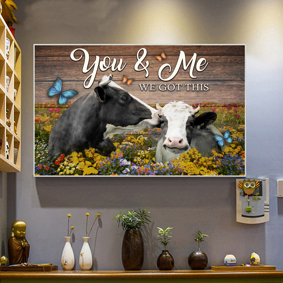 You and Me 2 Landscape Canvas