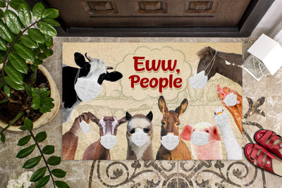 Farm Animals Eww People Doormat