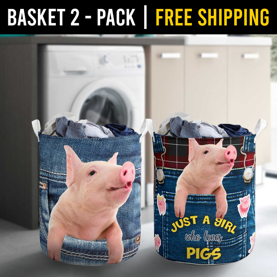 Farm Animals Laundry Basket Combo 10 Pack-2