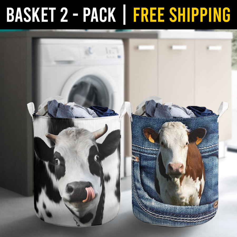 Farm Animals Laundry Basket Combo 1 Pack-2