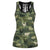 Farming Animals Camo Hollow Tank Top