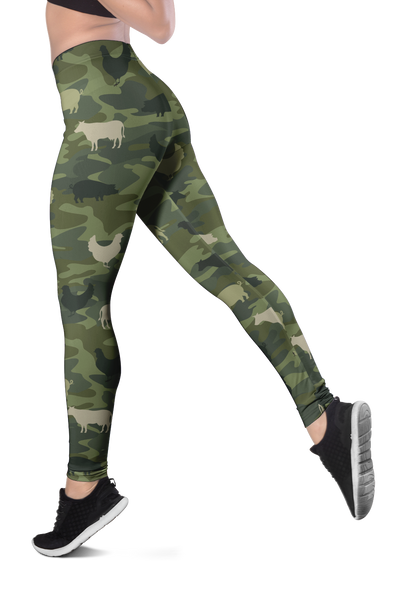 Farming Animals Camo Legging