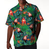 Funny Chickens Tropical 1 Hawaiian Shirt