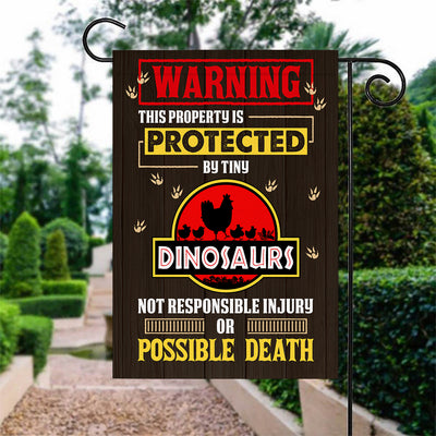 This Property is Protected By Tiny Dinosaurs