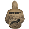 Farmers Life All-over Hoodie